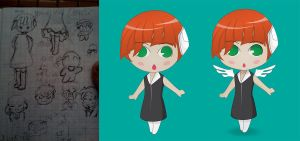 First Chibi Process by 2011991