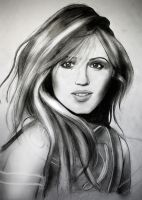Dianna Agron by DJFry