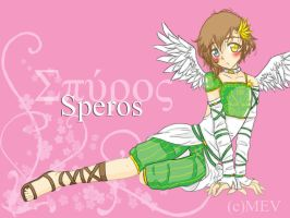 Speros: The Little Angel by MevAsumare