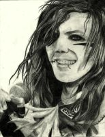Andy Biersack Drawing 4 by TatsuoMizushima