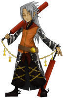 Twilight Town Xemnas by in-amorata