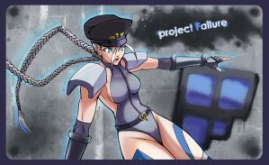 PF Bison Cammy Stick Art by hybridmink