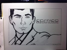 Archer by LauraBlackmore