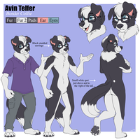 Avin Reference | Commission by strawberryneko33