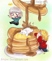 PruCancake for Ash by Aibyou