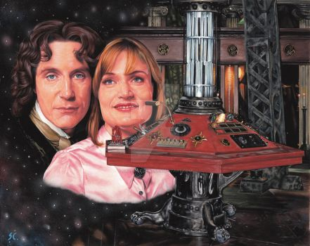 Doctor Who - TVM by caldwellart