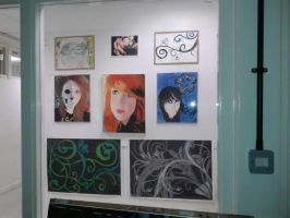 a very small amount of my art work for GCSE Art by mayavamp