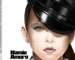 Namie Play Vector Wallpaper 02 by Kassworkshop