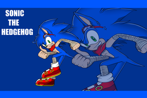 Sonic L.D. Style Wallpaper_Gift by Ila-Mae