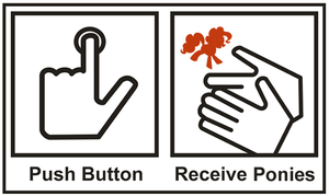 (DevID) Push Button, Receive Ponies by smokeybacon