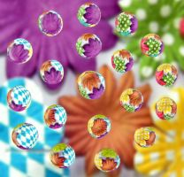 Colorful Drops 9 by flowerhippie22