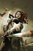 Song of Red Sonja 3-D conversion by MVRamsey