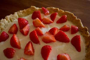 Strawberry cheesecake by amy--amy