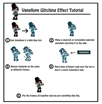 Vanellope Glitching Tutorial by Z-studios