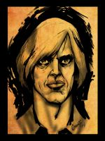 A Quick Sketch - Anton Chigurh by Grange-Wallis