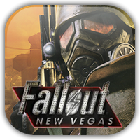 Fallout: New Vegas Game Icon by Wolfangraul