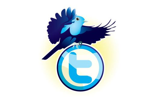 Twitter 't' Badge by WinfrithGraphics
