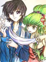 Code Geass: Lelouch and C.C by spogunasya