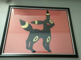 Umbreon Paper Craft by xxTsun-Heart