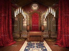 Throne Room by Trisste-stocks