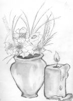 Vase with Flowers by DarkGX