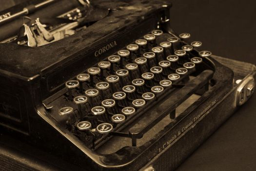Type Writer XI by breaking-reality