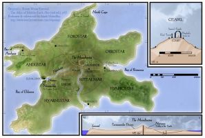 Map of Numenor by west2