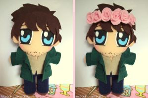 Hannibal Will Graham plushie by VioletLunchell