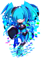 .:CM:. Blue Hedgehog ? by Omiza