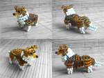 Beaded Shetland Sheepdog by Ala-Rai