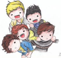 I love One Direction by angelelogs