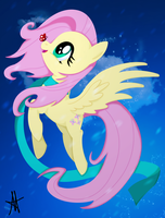 -MLP- Fluttershy Winter by Ardas91
