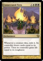 MtG - Consecrated Fires by soy-monk