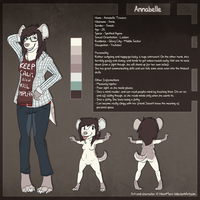 Annabelle Reference Sheet by pandalecko