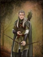 Legolas by TheSwanMaideN