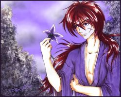 Evocative Kenshin by spinizuey