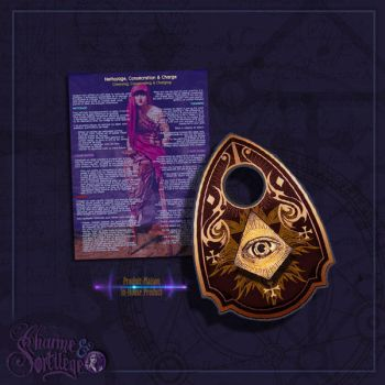 Ouija Planchette - Sepia by ArsOculus