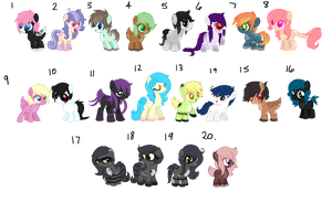 OTA Mixed Foals [1/20 OPEN] by Gothamed