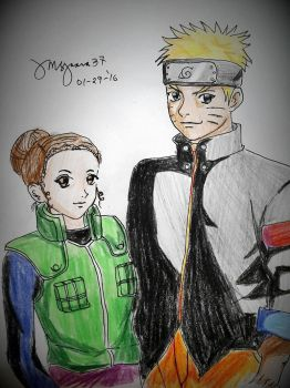 Naruto and Yours Truly by MsGaara37