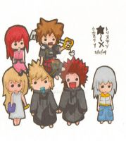 KH Chibi Group by Mira-mir