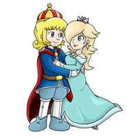 Commish: Rosie and Helio by Nintendrawer