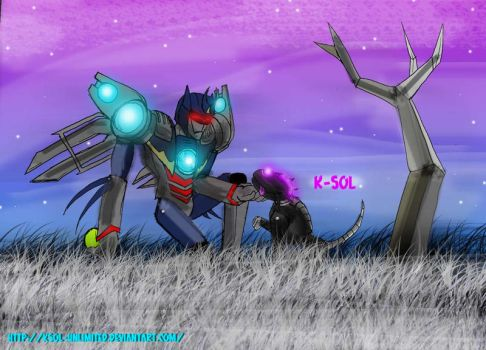 In Cybertron by ksol-unlimited