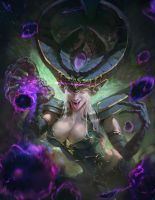 LOL Syndra by XiaoBotong