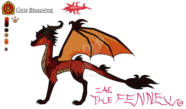 Cinis Reference by ZaeTheFennex