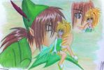 peterpan and tink by eve1789