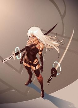 A2 Battle Ready 1 by OptionalTypo
