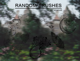 7 Random Brushes /brushes/ by noahjd