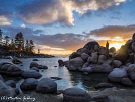Sand Harbor Sunset150222-9 - Copy by MartinGollery
