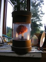 Brain in a jar by Planetspectra