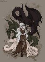 Mother of Dragons by IrenHorrors